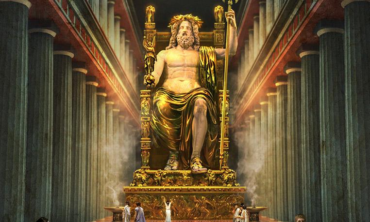 Zeus-Statue des Phidia...