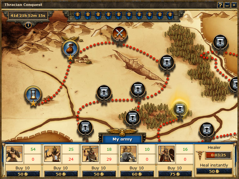 Thracian Conquest Wiki Grepolis EN - Grepolis us maps